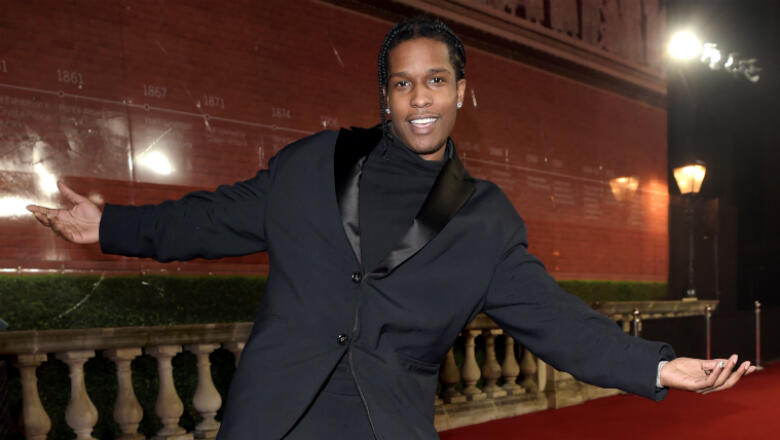 A$AP Rocky Has Hilarious Reaction To His Alleged Leaked Sex Tape