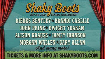 image for Shaky Boots 2020