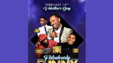 None - Fabulously Funny Comedy Festival w/ Mike Epps