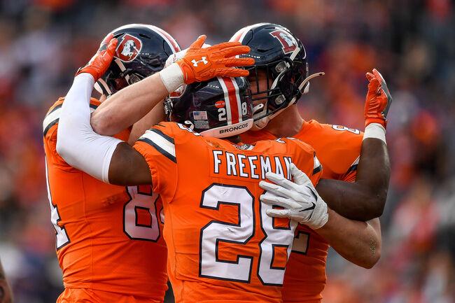 Detroit Lions v Denver Broncos