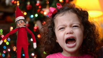 Holidays - Mom Goes Too Far With Dark 'Elf On The Shelf' Prank