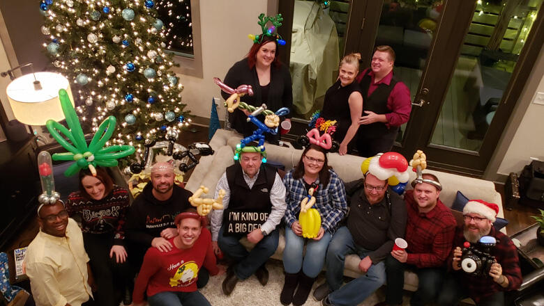 Cody's Holiday House Party [See The Pics]