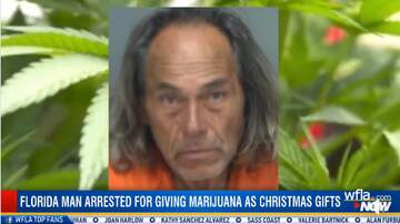 SHROOM - Florida Man Arrested For Giving Marijuana As Christmas Gifts [Video]