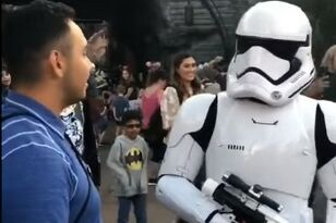 Guy Gets Absolutely Destroyed by Storm Trooper