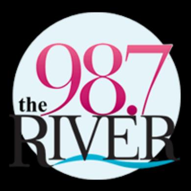 98.7 The River logo