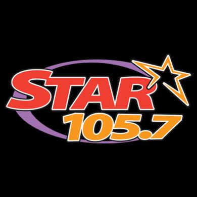 Star 105.7 logo