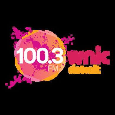 100.3 WNIC logo