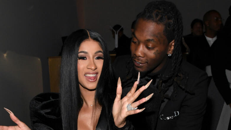 Cardi B Posts NSFW Photo Of Offset Grabbing Her Bare Derriere