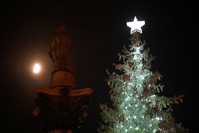 BRITAIN-NORWAY-CHRISTMAS TREE