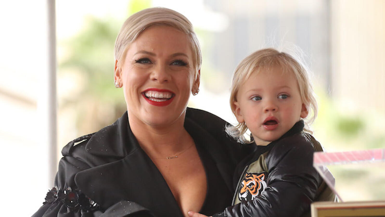 Pink Honored With Star On The Hollywood Walk Of Fame