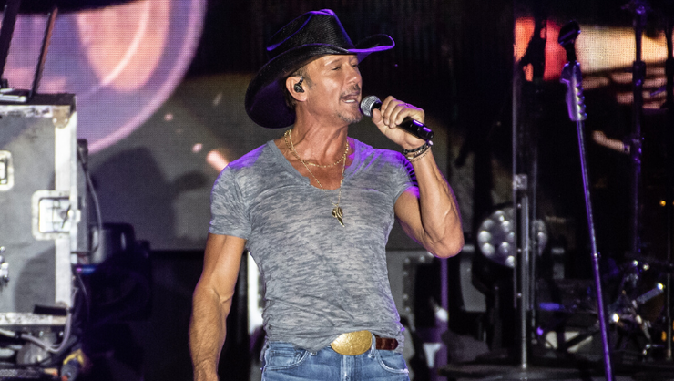 Tim McGraw Says 'Microgoals' Are Key To Achieving Your Resolutions In 2020