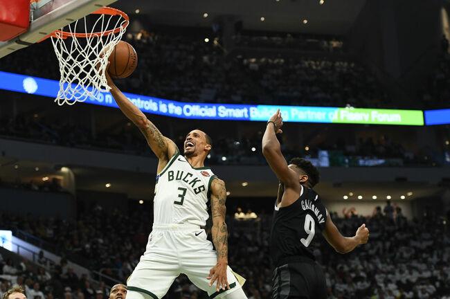 Detroit Pistons v Milwaukee Bucks - Game One