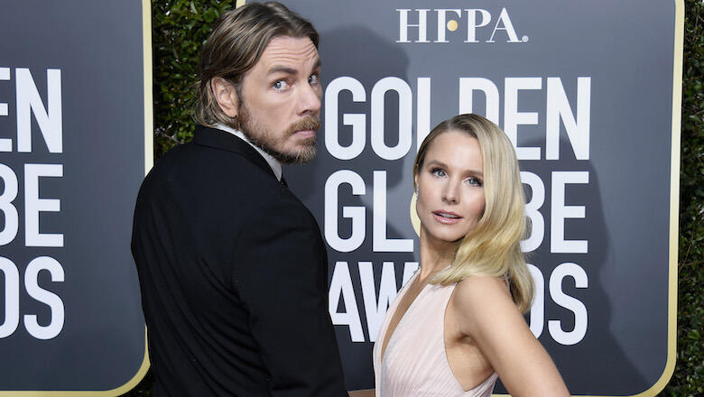 Kristen Bell Tries Not To Laugh As Dax Shepard & Daughters Discuss Swearing