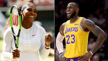 Sports Top Stories - Serena Williams And LeBron James Named Athletes Of The Decade