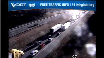 image for Accident: SB I-81 at MM219 in Aug Co. 1 SB travel lane closed. Delay 5 mi
