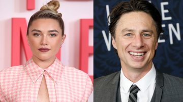 Trending - 23-Year-Old Girlfriend Of Zach Braff, 44, Claps Back Over Age Gap Comment