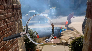 Trending - Boy Gets Magnifying Glass For Christmas, Immediately Sets Yard On Fire