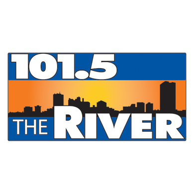 101.5 The River logo