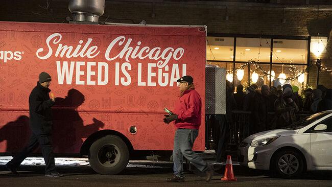 Dispensaries Open As Recreational Marijuana Becomes Legal In Illinois