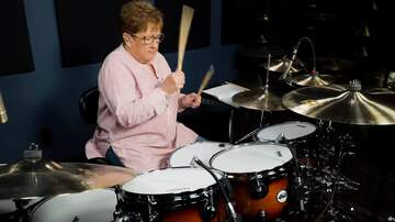 Paul and Al - Godmother of Drumming Plays Down with the Sickness and ROCKS!