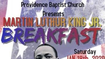 None - Martin Luther King Jr. Breakfast at Providence Baptist Church