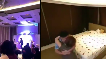 What We Talked About - At Wedding Groom Plays Video Of Bride Cheating On Him With Brother-In-Law