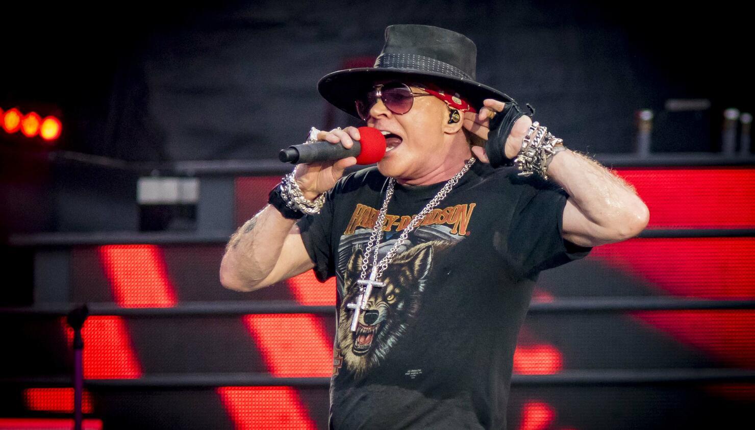 Guns N' Roses Performs At TD Place Stadium