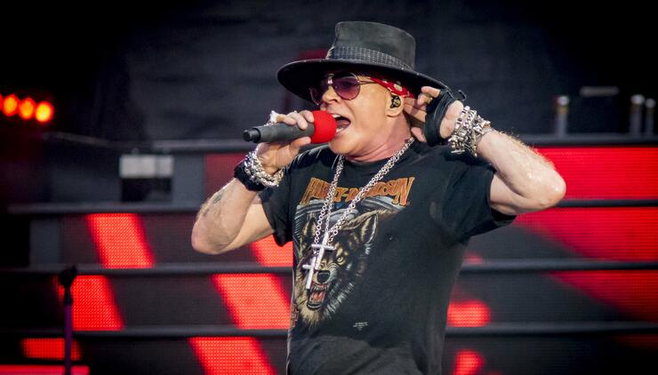 Guns N' Roses Performs At TD Place Stadium