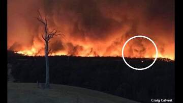 Coast to Coast AM with George Noory - Spooky 'Demon Face' Spotted in Smoke From Australian Wildfires