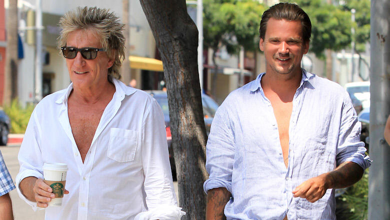 Rod Stewart & Son Sean Facing Criminal Battery Charges After NYE Fight
