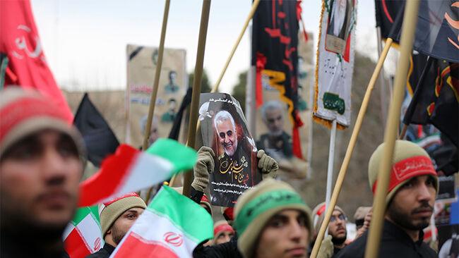 Anti-US rally in Tehran