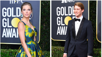 Ryan Seacrest - Taylor Swift, Joe Alwyn Discreetly Arrive to Golden Globes Together