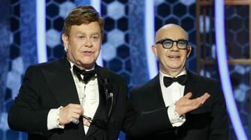 iHeartRadio Spotlight - Twitter Freaks Out at Elton John Taking Off His Glasses at Golden Globes