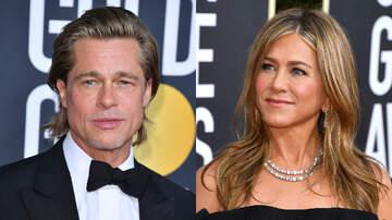 iHeartRadio Spotlight - Brad Pitt Talks About 'Running Into' Jennifer Aniston At 2020 Golden Globes