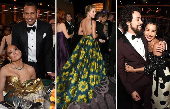 Everything You Didn't See On TV During The 2020 Golden Globe Awards