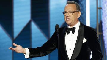 National News - Tom Hanks Gets Emotional In Golden Globes Acceptance Speech