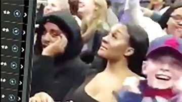 Trending - Cheating Man Gets Caught On Camera With Side Chick At Basketball Game