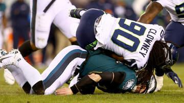 Sports Top Stories - Seahawks' Jadeveon Clowney Slams Eagles Fans, Worst Fans in the World.