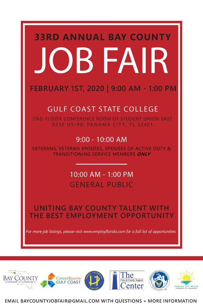 2020 Bay County Job Fair