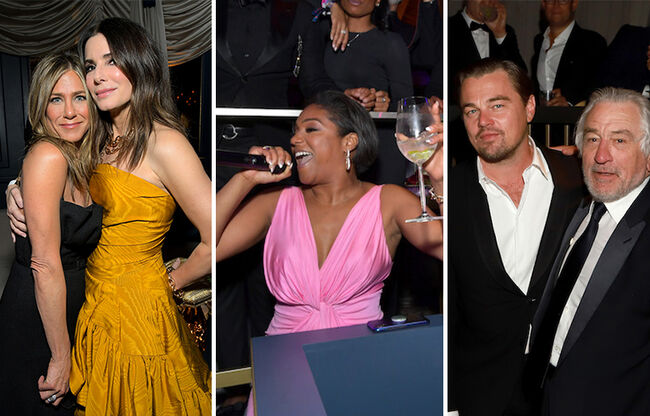The Star-Studded 2020 Golden Globes After Parties: See The Pics