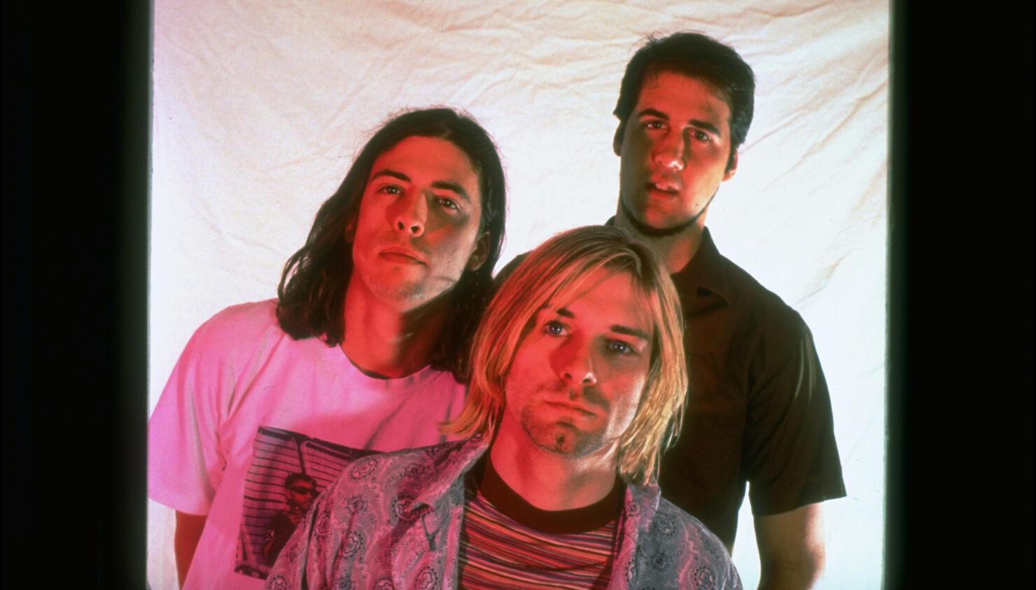 Krist Novoselic;David Grohl;Kurt Cobain
