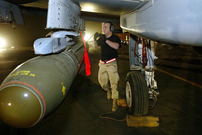 U.S. Air Force Prepares For Strikes Against Iraq