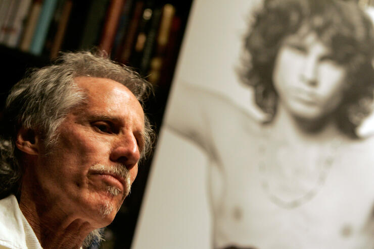 The former drummer of the band The Doors