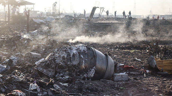 Boeing 737 Jet Crashes In Iran Killing Everybody On Board