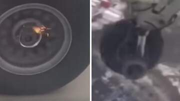 Brett 'Bside' Matthews - Unsettling Moment a Passenger Spotted His Plane's Wheel Falling Off