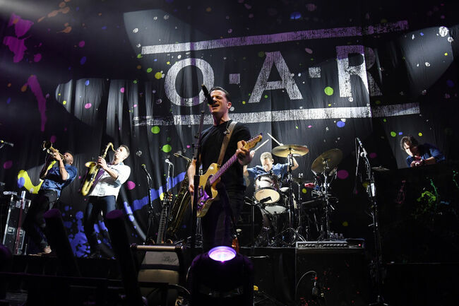 O.A.R. To Perform At Ravens' Playoff Game This Saturday