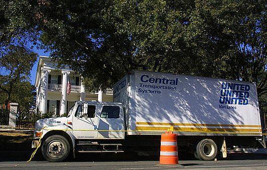 Truck Driver Shortage = Moving Vans Delivering Later