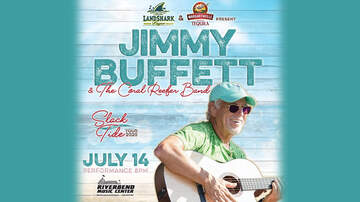 None - Jimmy Buffett at RIVERBEND on July 14