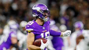 Vikings Blog - REPORT: Adam Thielen's ankle injury is a bad cut, prognosis positive