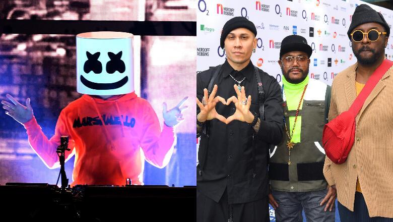 Marshmello & Black Eyed Peas Headlining Sports Illustrated Super Bowl Party
